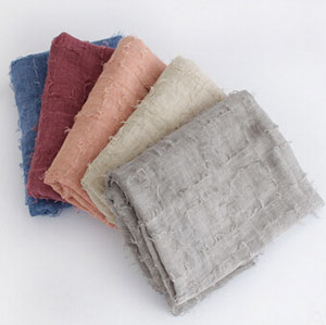 Thermal dye hair squares pure color cotton scarf wholesale