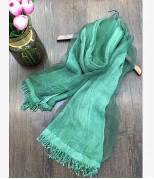 Double mulberry silk monochrome scarf wholesale