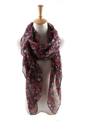 Wholesale Print Bali yarn scarf