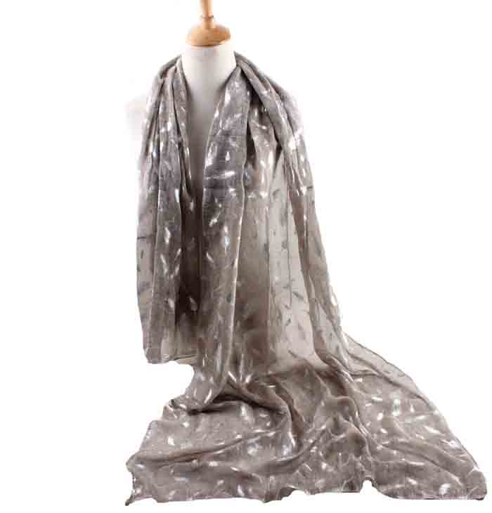 wholesale feathers linen scarves