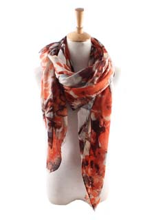 Wholesale large flower scarf scarf