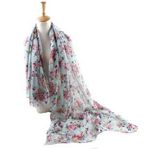 wholesale monthly printing Bali yarn scarves