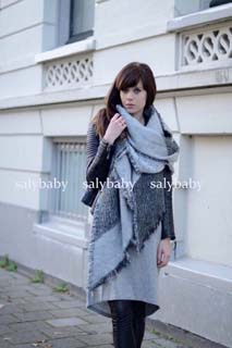 Wholesale beveled imitation cashmere scarf