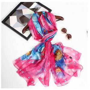 Joker beach chiffon female scarves wholesale