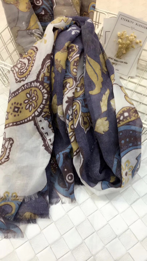 2018 newest cotton scarf hand sarves