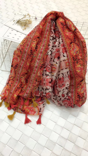 USA hot sell tassel scarf