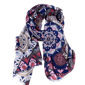 2018 Spring and summer new lace linen scarf lady plaid scarves