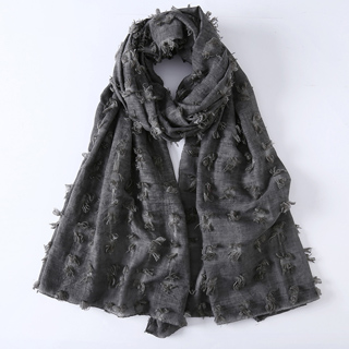 winter new hair ball scarf