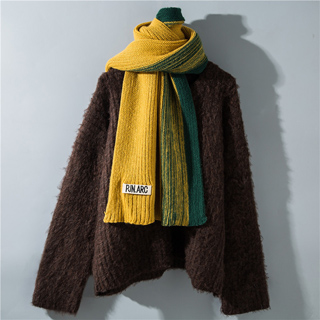 winter knitted woolen scarves