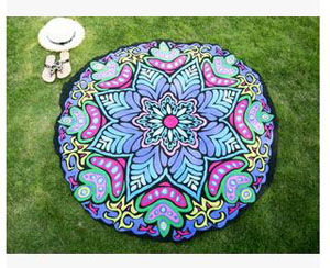 Chiffon round beach towels female beach mat wholesale