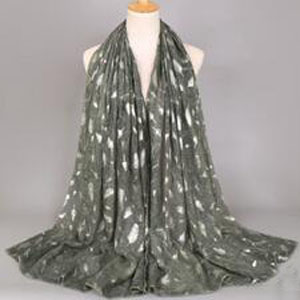Lady tie-dyed hot silver fashion shawl scarf wholesale