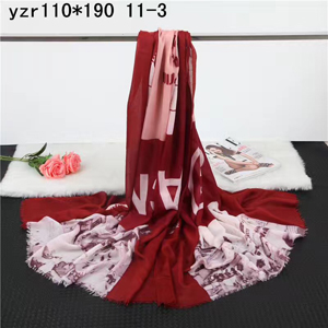 Female letter cashmere scarf wholesale