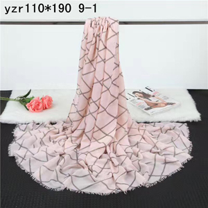 Woolen pattern cashmere female scarf wholesale