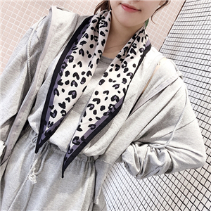 Leopard print with sharp-edged diamond scarf cheap from China
