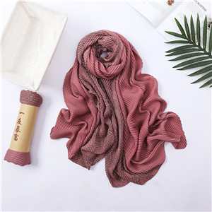 Wholesale houndstooth folds decorative cotton scarf
