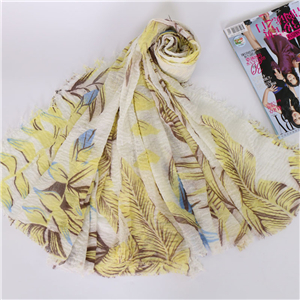 China wholesale floral printed cotton hair scarf