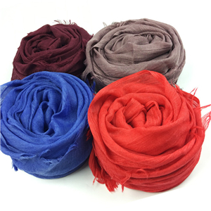 Wholesale solid color cotton hair scarf