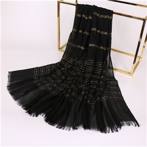China wholesale embroidery gold silk woolen scarf