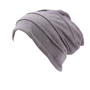 Monochrome four fold warm head scarf whoolesale from china
