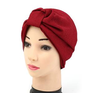 China wholesale solid color cotton Muslim head scarf
