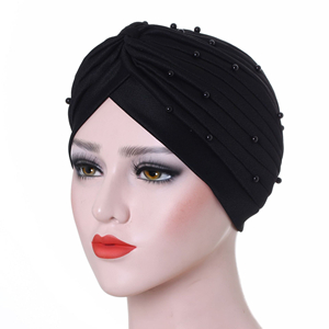 Bead folds simple Muslim cheap head scarf