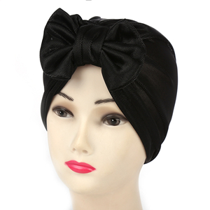 Wholesale bow cotton Muslim head scarf