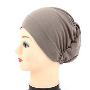 Wholesale monochrome thin net cloth Muslim headscarf