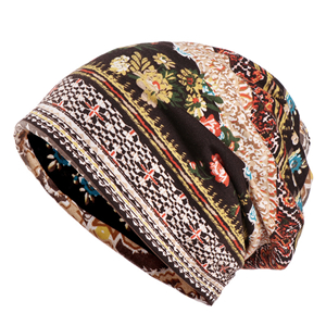 Cotton printed sunscreen head scarf cheap from china