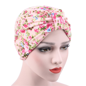 Wholesale shredded flower cotton Muslim headscarf