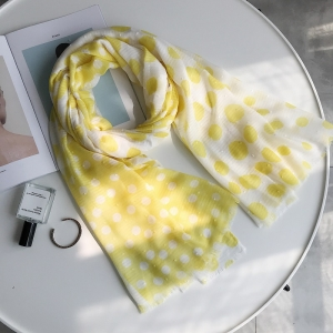 Wave dot thin section sunscreen cotton wholesale scarf