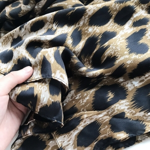 Leopard thin sunscreen scarf cheap from china