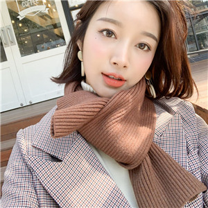 Wholesale solid color knitted cotton scarf