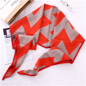 Wholesale geometric diamond cashmere scarf