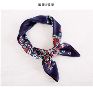 Printed silk cheap square scarf from China