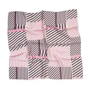 Wholesale printed silk cheap square scarf