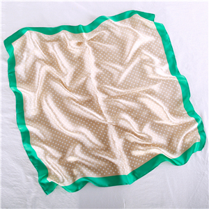 Printed silk square scarf wholesale from China