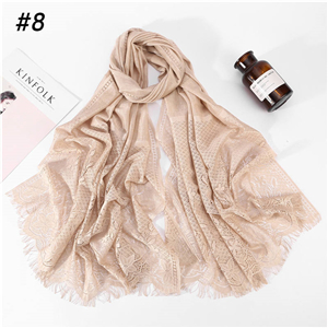 Wholesale muslim lace decorative scarf