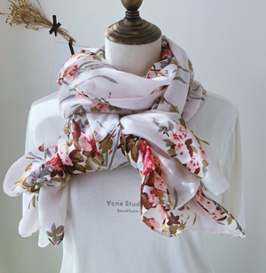 Wholesale Dubai red cotton scarf supply