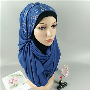 Hot drilling cotton Muslim wholesale scarf