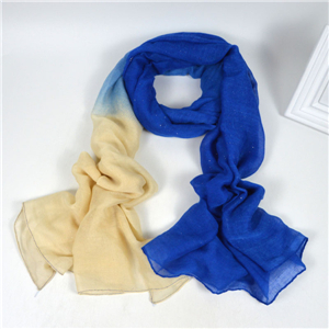 Wholesale sequins gradient muslim scarf