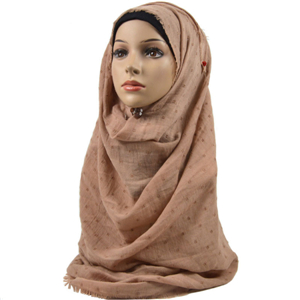 China cheap cotton demolition muslim scarf