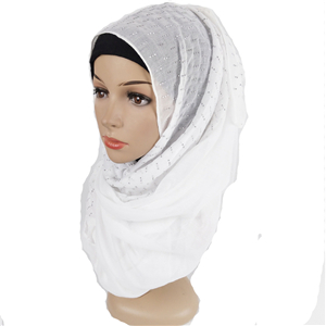 Wholesale three diamonds cotton arabian scarf