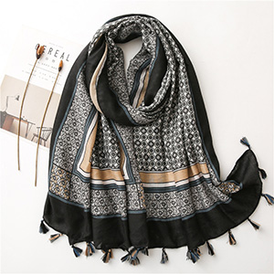 Polyester printing thermal shawl wholesale