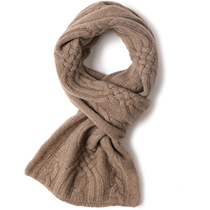 2020 winter knitted warm 100% cashmere scarves