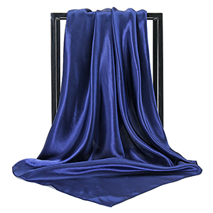90cm turban satin square scarf wholesale