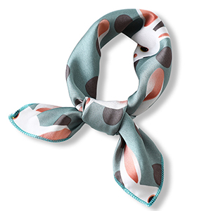 50cm Plain Printed Silk Scarf Wholesale