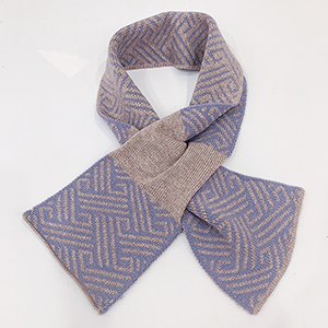 Ladies trendy shawl knitted scarf wholesale
