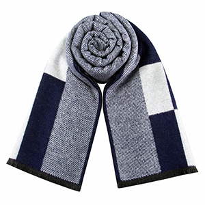 Men casual cashmere plaid scarf wholesale