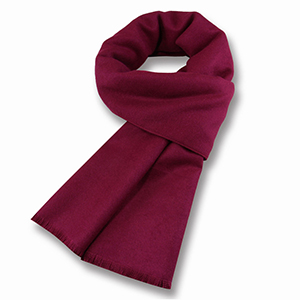 Wholesale solid color warm plain cotton scarf