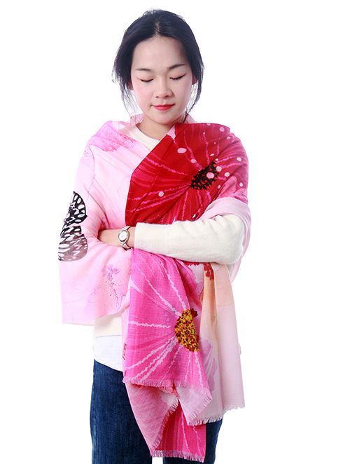Wholesale scarf cashmere scarves for woman